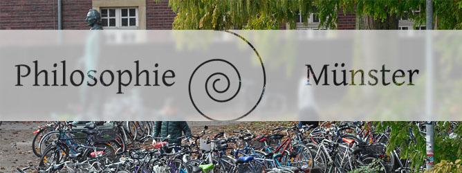 Fahrräder am F-Haus der Uni Münster