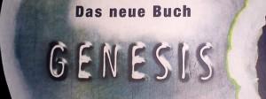 "Cover des Romans ""Das neue Buch Genesis"""