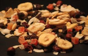 Typisches Studentenfutter mit Rosinen, Mandeln und vielen Nüssen. (©Studifutter.com)