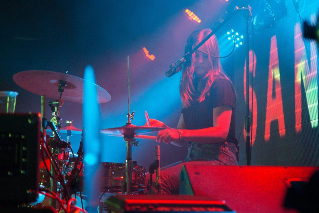 Drummerin Konzert