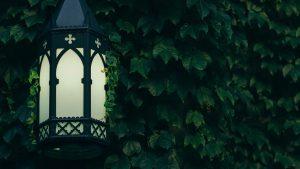 Laterne Zwielicht