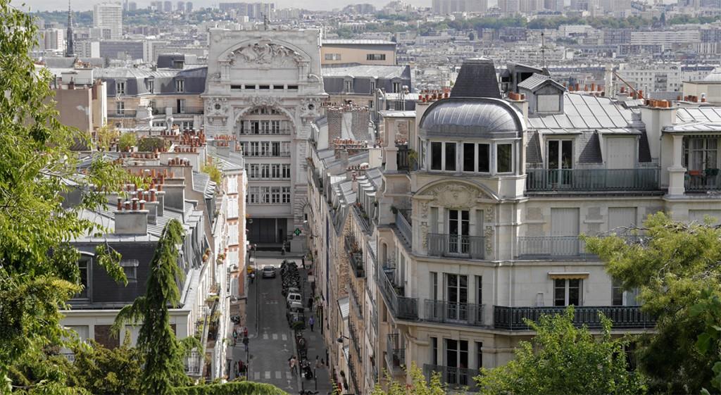 Die Dächerwelt der Stadt - von Saint Claire aus.