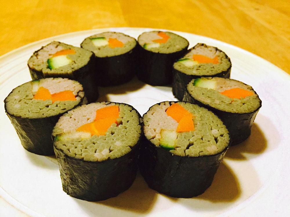 Sushi aus Soba