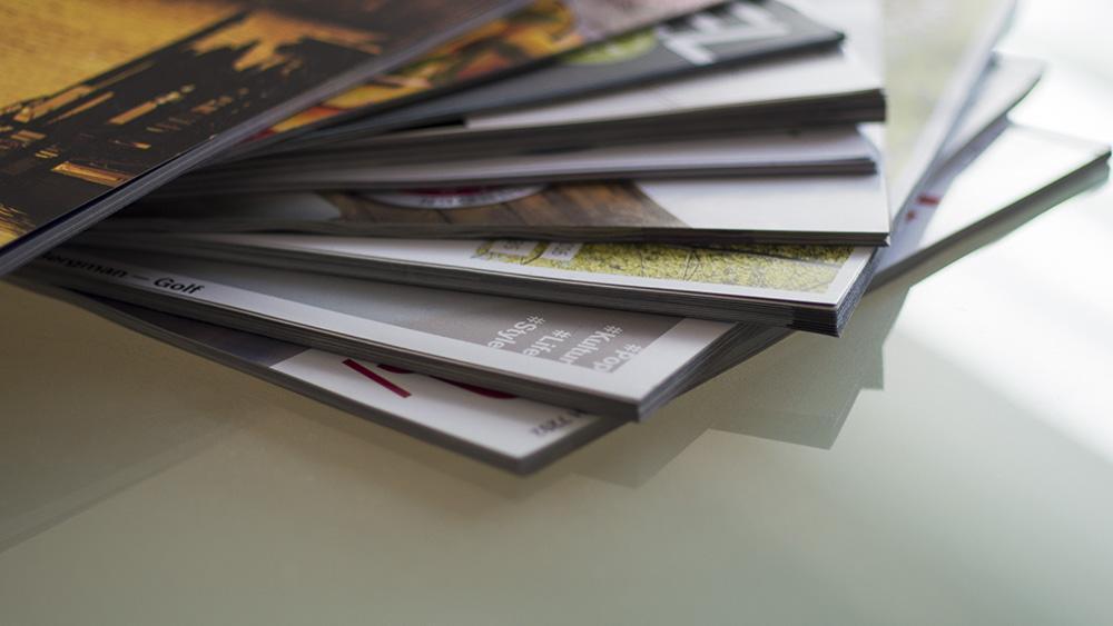 Inspiration. Wir haben jedes Magazin gelesen, das wir in die Finger bekamen.