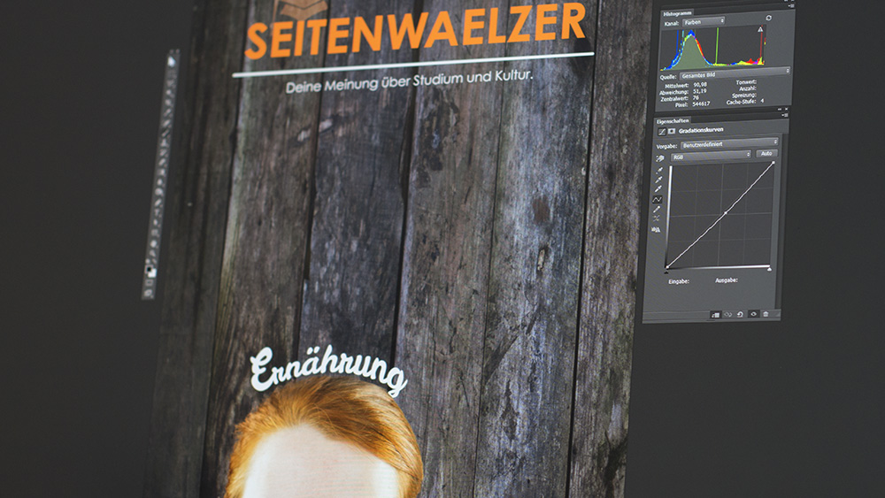 Photoshop in Action - ein Titelbild entsteht