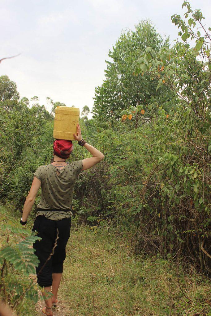 Wasser tragen