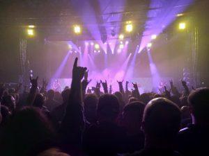 Auftritt von Kissin Dynamite 2019