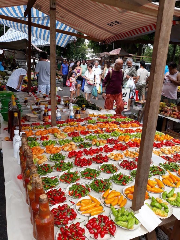 Straßenmarkt in Rio de Janeiro