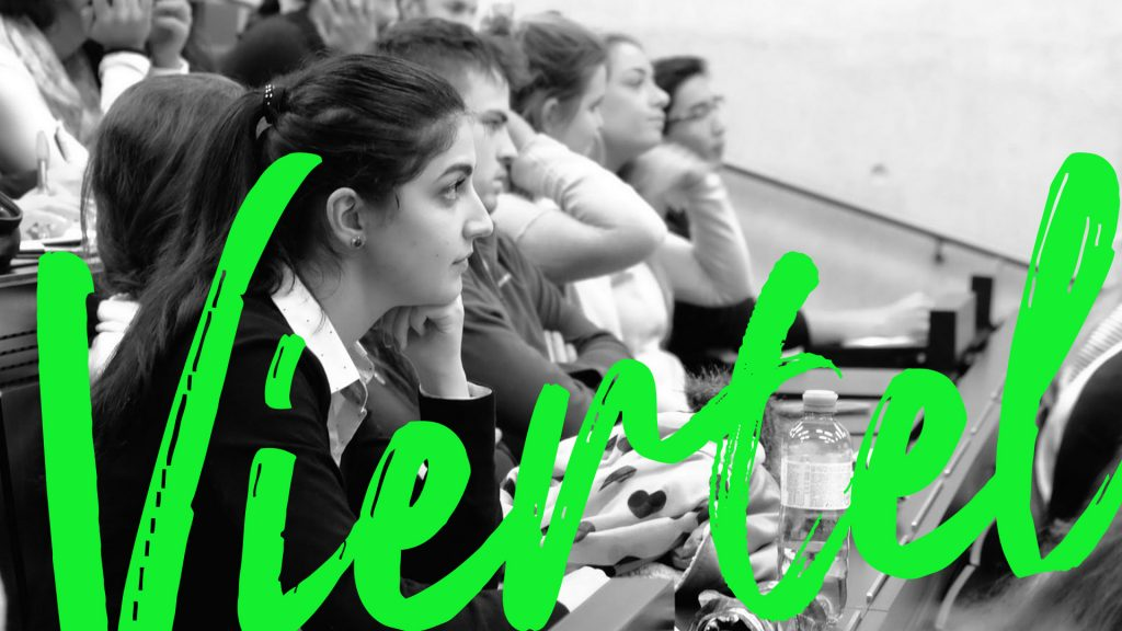 Studierende in der Vorlesung