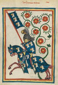Cod. Pal. germ. 848 Große Heidelberger Liederhandschrift (Codex Manesse)