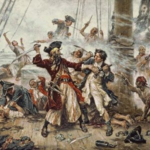 Der Pirat Blackbeard