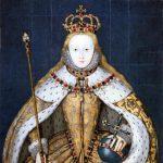 Elisabeth I. bei ihrer Krönung
