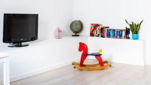 Zimmer mit Spielzeug