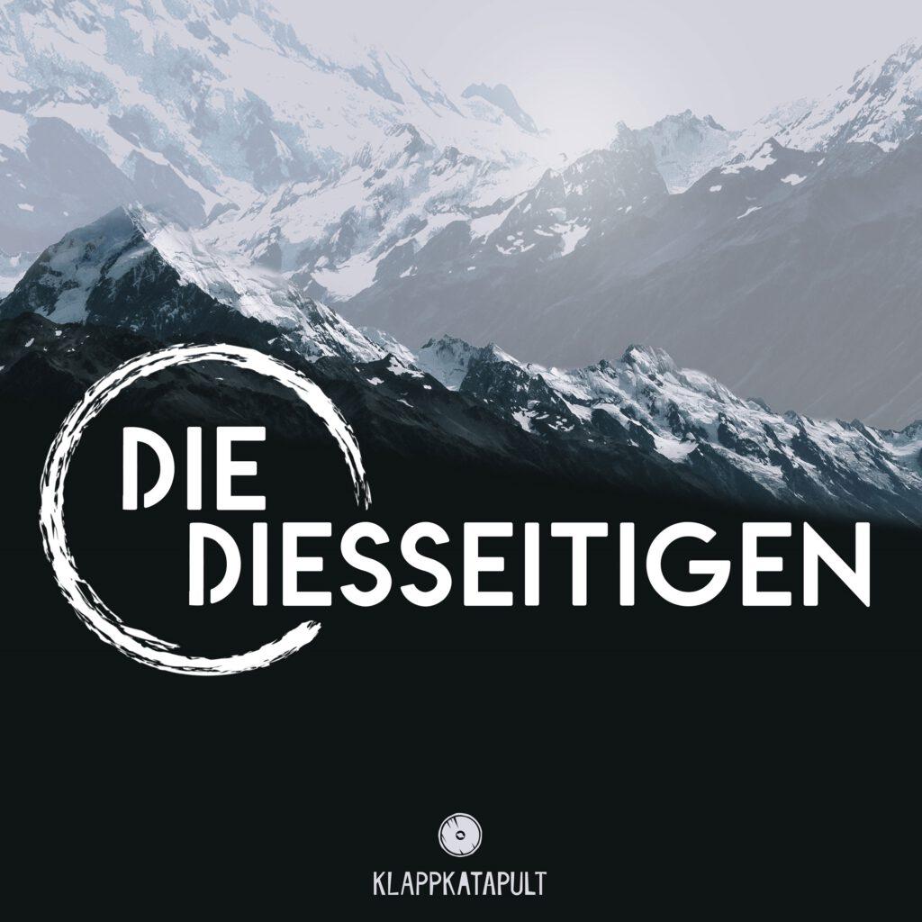 Cover Die Diesseitigen Gebirge mit Schriftzug