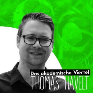 """Das Cover der ersten Folge """"Das akademische Viertel"""" - mit Thomas Havelt"""