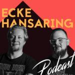 Cover des Podcasts Ecke Hansaring, darauf die beiden Moderatoren Michael und Moritz